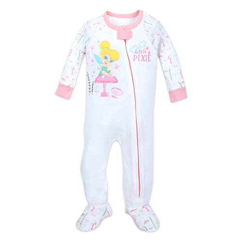Disney Tinker Bell Stretchie Sleeper for Baby Size 3-6 MO Multi