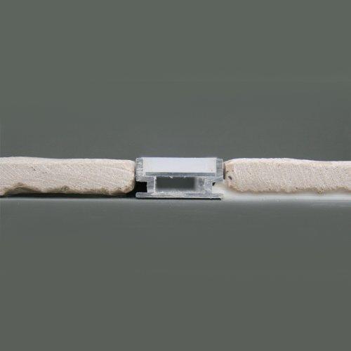 Profil In Aluminio Hr Alu Fur Streifen Led Fur Fliesen 1 M