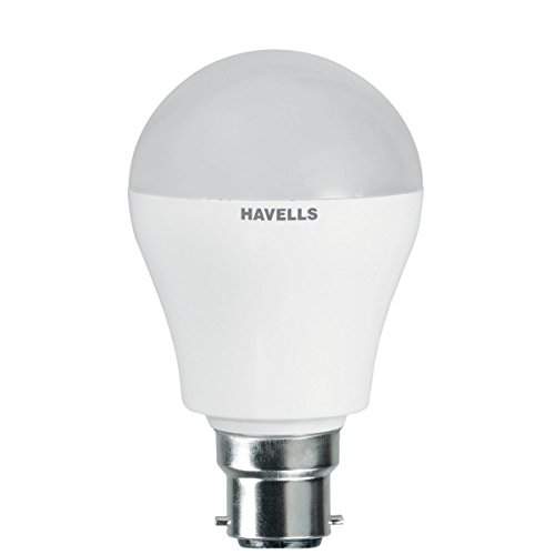 Havells Adore 5W B22 Round LED Bulb (White,Pa..