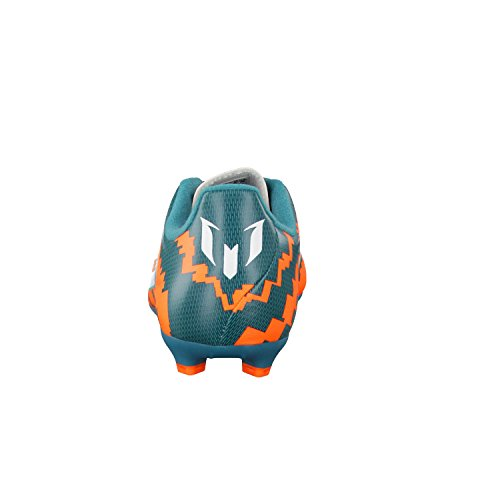 adidas Kinder Fussballschuhe Messi 10.3 FG 37 1/3 power teal f14/ftwr white/solar orange