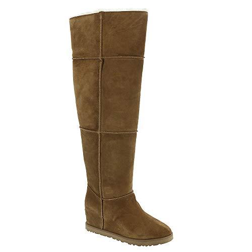 UGG Women's Classic Femme OTK Boot Chestnut Size 9 B(M) US (On Rain Ugg Sale Boots)