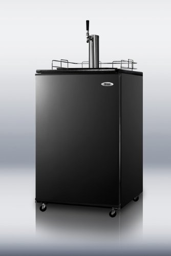 Kegerator Summit - Summit Appliance SBC490 Series Kegerator With Black Door