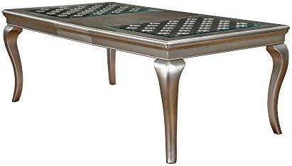 Benjara Benzara Contemporary Dining Table
