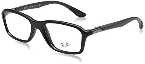Ray-Ban Men's RX8952 Eyeglasses Matte Black - Ray Black Ban Eyeglasses