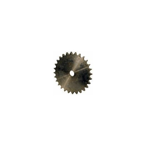 Big Bearing 40A28 28 Tooth A Plate Sprocket for #40 Roller Chain, Carbon Steel, 5/8'' Bore, 4.74'' Diameter, Heat Treated Teeth