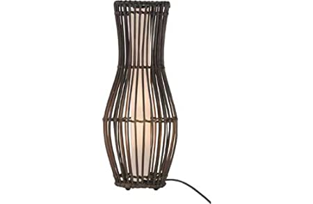 Sirit rattan table lamp dark brown amazon kitchen home sirit rattan table lamp dark brown aloadofball Choice Image