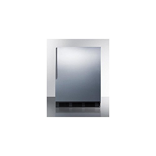Summit FF63BBISSHV Refrigerator, Stainless Steel