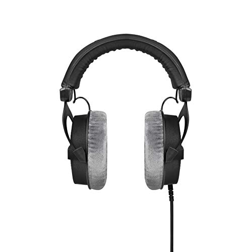 beyerdynamic DT 990 PRO Over-Ear Studio Headphones in black  Open  construction, wired