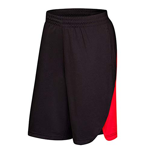 Corriee Men's Baggy Basketball Shorts Mens Summer Fitness Drawstring Short Sweatpants Cropped Running Pants