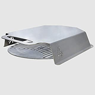 """product image for ARTEFLAME Stainless Steel Pizza Oven Hood with 18"""" Custom Center Pizza Grate - Fits All Classic 40"""", One 40"""", Euro 40"""" Grills."""