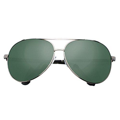 UV Hombre Para Drive Sunglasses Polarizadas Lentes LINNUO 4verde Aviador Mujer Eyeglasses Sol Proteccion de Gafas Metálico qxn4wABHz