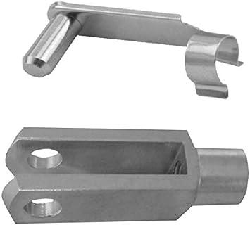 M10 mit Federbolzen verzinkt Gabelkopf 1 Stück 10x40 DIN71752 4.28€//1