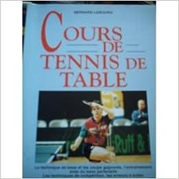 cours de tennis de table