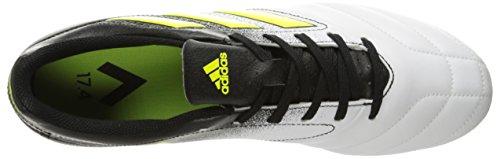 adidas Performance Herren Ace 17.4 FxG Fußballschuh Weiß / Solar Gelb / Schwarz