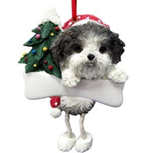 Shih Tzu Ornament with Unique
