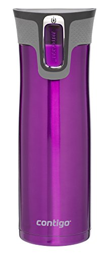 Contigo Autoseal West Loop Stainless Steel Travel Mug with Easy-Clean Lid, 20...