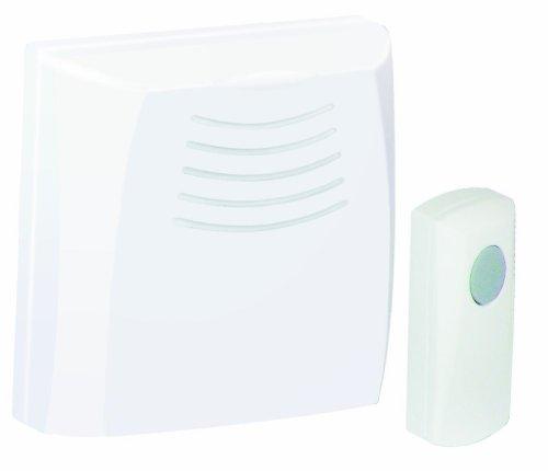 Honeywell RCWL110A1006/N Wallmount Wireless Doorbell / Door Chime and Push Button