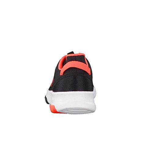 adidas CF Racer TR K, Zapatillas de Deporte Unisex Niños Negro (Negbas / Rojsol / Ftwbla)