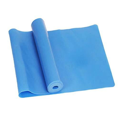 LIOOBO Fitness Bandas elásticas para musculación Física Ejercicio de Fuerza Bandas para Entrenamiento físico (Azul)