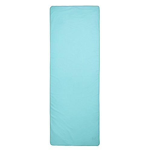 Towel Framed - Mission VaporActive Yoga Mat Towel, Blue Curacao, 24.5