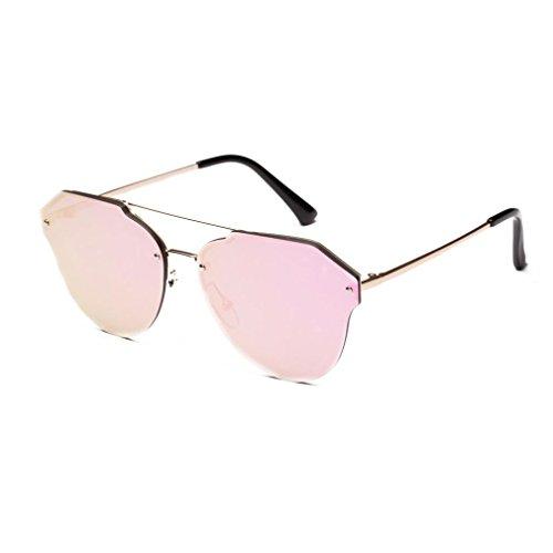 de Sol UV D Redondas Espejo Marco Logobeing de Gafas Aviador Gafas Gafas Mujer Polarizadas Sol Hombre de Metal xTxq7CPwZ