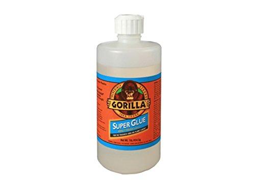 RetailSource ADHGG12x1 16 oz. Gorilla Super Glue, 4.25'' Height, 7.75'' Length by RetailSource