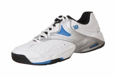 Wilson Pro Stuff 1000 Men White/Silver/Blue/Black UK 7,5 EU 41 1/3