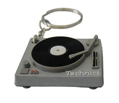 Amazon.com: Technics: Turntable cubierta llavero – plata ...