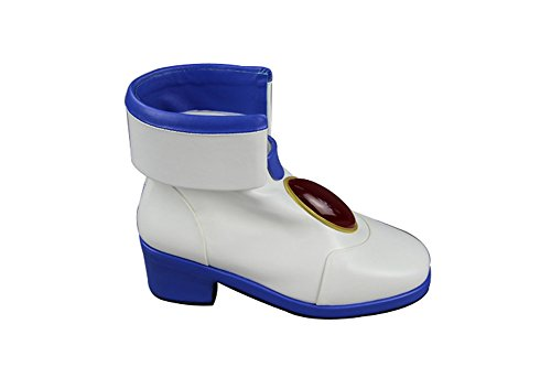 Women's White Cosplay Takamachi Mtxc Shoes Lyrical Nanoha Girl Magical White Nanoha Bwazwd