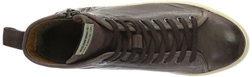 Pepe Jeans Norwich Zip - Zapatillas Hombre Marrón - Braun (Dark Brown 898)