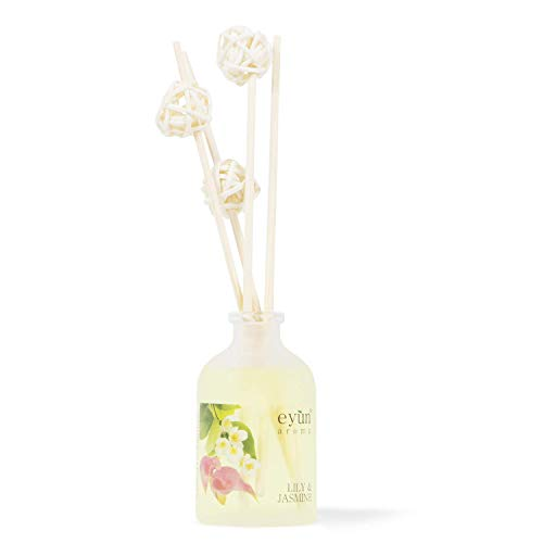 Lily & Jasmine Reed Diffuser Set - Home Fragrance - Home Decor & Housewarming Gift Idea
