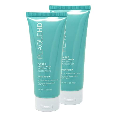 Plaque HD Toothpaste (2 Pack Fresh Mint) by PlaqueHD