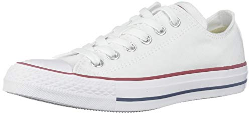 Converse Unisex Chuck Taylor All Star Ox Sneakers Optical White M7652 Size 11 B(M) US Women / 9 D(M) US Men -