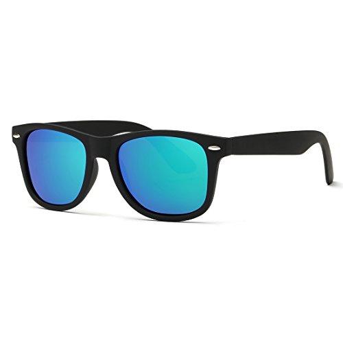 380593a9131 Kimorn Polarized Sunglasses Classic Unisex Horn Rimmed 80 s Retor Eyewear  AE0300