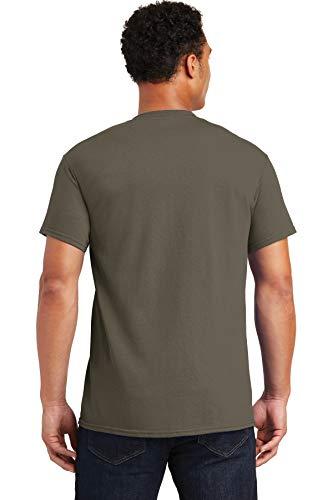 Gildan Men's Ultra Cotton T-Shirt, XXXX-Large, Prairie Dust