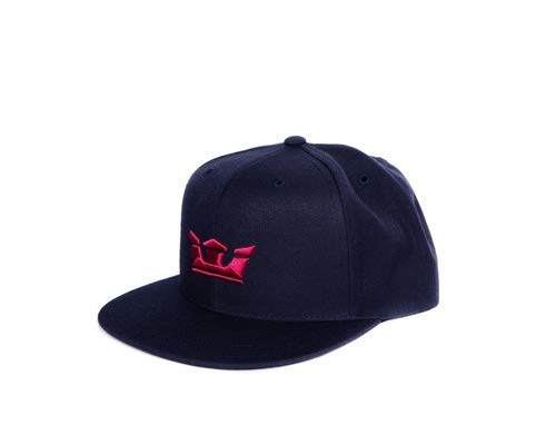 (Supra Mens Icon Snap Hat Navy Red Size One Size Fits All)