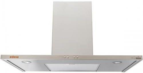 Edesa POP-BOX90X - Campana (460 m³/h, Canalizado, De pared, Acero inoxidable, Acero inoxidable, 40 W): Amazon.es: Hogar