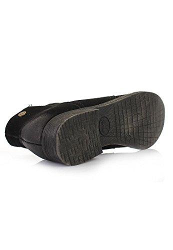 XTI , Baskets pour femme Noir Noir