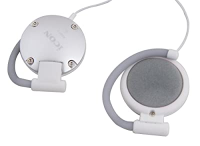 Icon - Scan3 - Clip-on Monitor Headphones - Silver