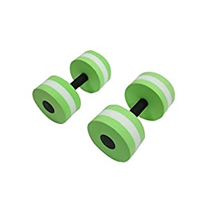 Trademark Innovations Aquatic Exercise Dumbells Set of 2 for Water Aerobics
