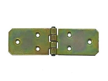 Scharniere verzinkt Tischb/änder Tischband 100 mm x 40 mm x 2 mm