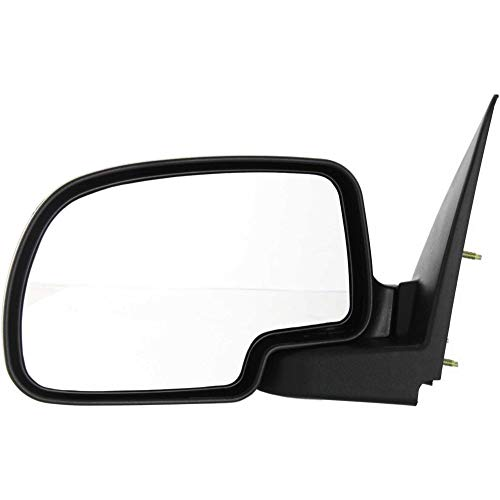 Kool Vue GM59L Chevy Silverado/Suburban Driver Side Mirror, Manual, Textured Black