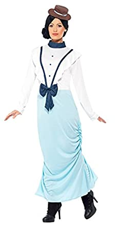 1900s, 1910s, WW1, Titanic Costumes Smiffys Womens Posh Victorian Lady Costume  AT vintagedancer.com