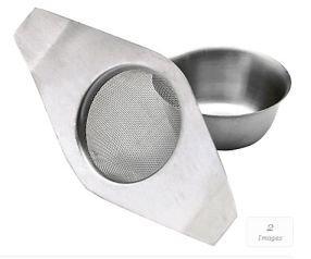 Kitchen Craft LeXpress Colino per t/è in acciaio INOX con doppio manico