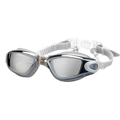 Angel Fish Glass Necklace - ❤️❤️Jonerytime❤️❤️Waterproof Professional Anti-Fog Glasses UV Protection HD Swimming Goggles New (Gray)