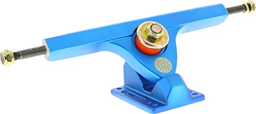 山積みの国籍厚さCaliber II Forty-Four 10/44 Satin Blue Trucks (Set Of 2) by Caliber Trucks