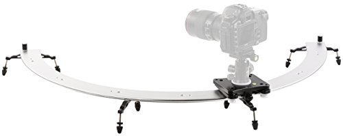 Movo Photo CTS500-II Panoramic 180° Circular Camera Sliding Track System with Roller Bearing Sliding Platform