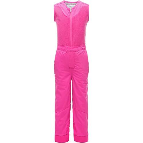 Spyder Girls' Bitsy Sparkle Ski Pant, Taffy Pink/Taffy Pink/Taffy Pink, Size 4