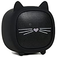 Kate Spade New York Cat Bluetooth Speaker, Black, One Size