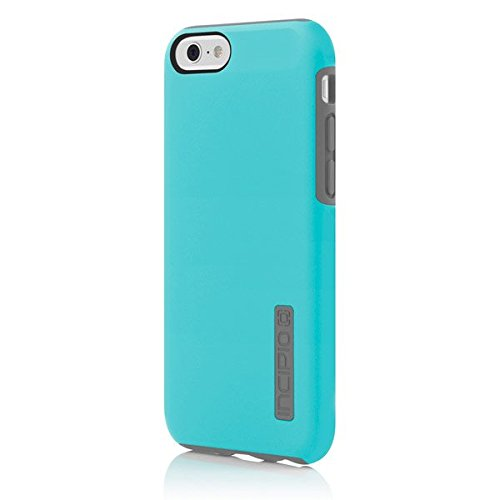 the latest 0e4ab 2502b Incipio IPH-1179-BLUGRY iPhone 6S Case, DualPro Case [Shock Absorbing]  Cover fits Both Apple iPhone 6, iPhone 6S - Light Blue/Gray